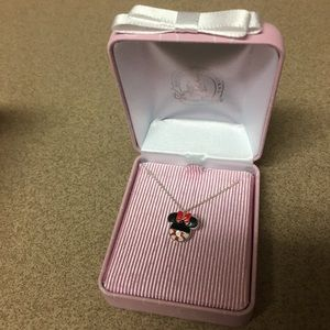 Disney Parks Minnie Mouse ears pendant necklace